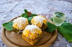 Тайский десерт стоковое фото rf