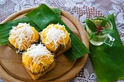 Тайский десерт стоковая фотография