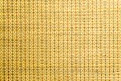 Тайский желтый цвет циновки Стоковые Изображения