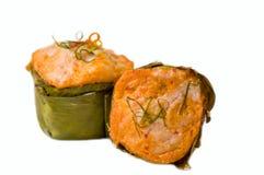 Тайский звонок HORMOK еды кухни Стоковое Изображение