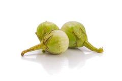 Тайский зеленый баклажан Стоковое Изображение RF