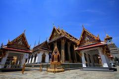 Тайский изумрудный висок стоковая фотография rf