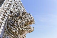 Тайский камень искусства стиля handcraft скульптура Стоковые Изображения RF