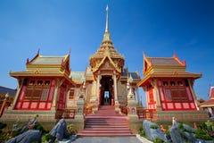Тайский королевский funeral и висок стоковая фотография