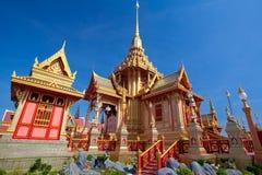 Тайский королевский funeral и висок стоковые изображения rf
