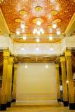 Тайский королевский интерьер здания Стоковое фото RF