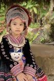 Тайский костюм носки девушки традиционный этнического hmong стоковое изображение rf