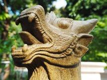 Тайский лев попечителя Стоковое фото RF
