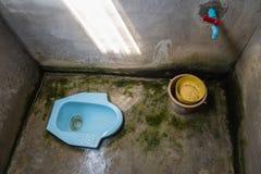 Тайский низкий туалет Стоковая Фотография