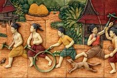 Тайский образ жизни стоковые изображения