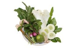 Тайский овощ стоковое фото rf