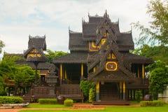 Тайский дом стиля стоковое изображение rf