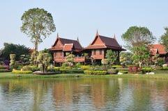 Тайский дом типа Стоковое Изображение RF