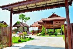 Тайский дом типа Стоковые Фотографии RF