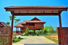 Тайский дом типа Стоковые Изображения