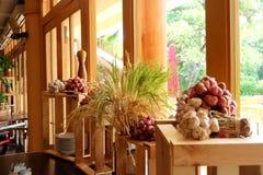 Тайский перец чеснока красного лука травы Стоковые Изображения RF