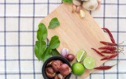 Тайский пищевой ингредиент для варить Стоковая Фотография RF