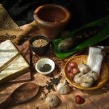 Тайский пищевой ингредиент Стоковое фото RF