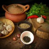 Тайский пищевой ингредиент Стоковые Фотографии RF