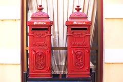 Тайский почтовый ящик стоковые фотографии rf