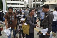 Тайский политический кризис Стоковая Фотография