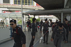 Тайский политический кризис Стоковое фото RF