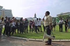 Тайский политический кризис Стоковое Изображение RF