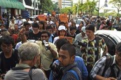Тайский политический кризис стоковые изображения rf