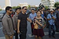 Тайский политический кризис Стоковое Изображение