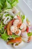 Тайский пряный салат стоковое фото