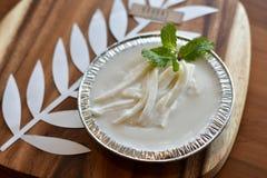 Тайский пудинг молока с кокосом Стоковое Изображение