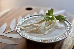 Тайский пудинг молока с кокосом Стоковые Изображения RF