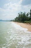 Тайский пляж острова Стоковые Фотографии RF