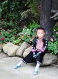Тайский ребенок Стоковые Изображения