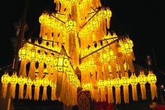 Тайский светильник типа Стоковое Фото