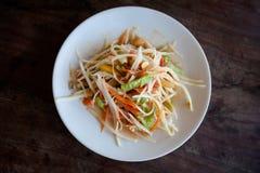 Тайский сом Tam салата Стоковые Фотографии RF