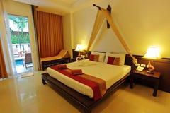 Тайский стандартный интерьер дизайна курорта Стоковые Изображения