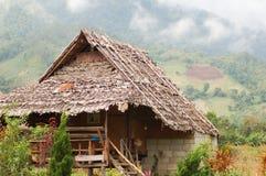 Тайский старый дом стиля стоковые фото