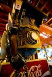 Тайский старый телефон стоковая фотография
