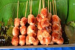 Тайский стиль сосиски Стоковые Фотографии RF