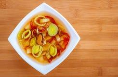 Тайский суп батата Tom Стоковое Изображение