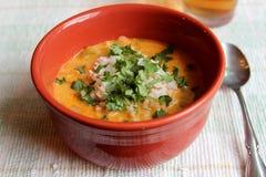 Тайский суп карри Стоковые Фото