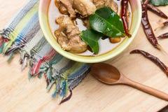 Тайский суп ноги свинины Стоковая Фотография RF