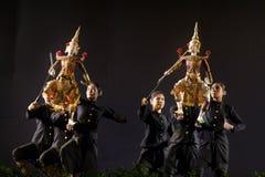 Тайский театр марионетки стоковое фото rf
