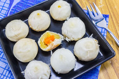 Тайский торт луны (тайский десерт) Стоковое Изображение RF