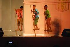 Тайский традиционный танец Стоковая Фотография