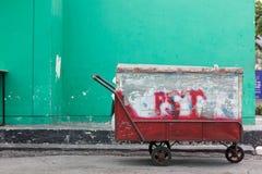 Тайский трицикл тачки Стоковое Изображение
