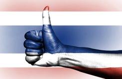 Тайский флаг стоковые фотографии rf