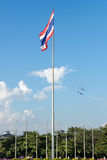 Тайский флаг Стоковые Фото
