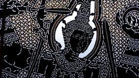 Тайский характер театра тени Стоковое фото RF